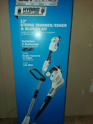 HART tRimmer and leaf blower with for Sale in Sanford, NC