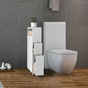BRAND NEW!!! Bathroom Storage Rolling Cabinet Holder Organizer for Sale in San Bernardino, CA