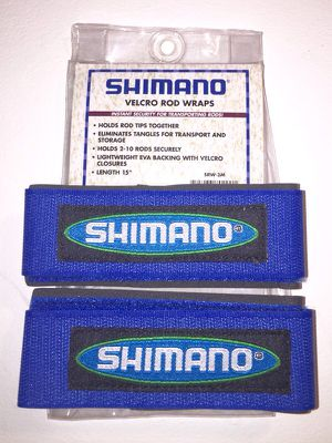 Shimano Velcro Rod Wraps for Sale in Pacifica, CA