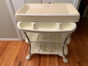 Bath and changing table for Sale in Laurel, MD