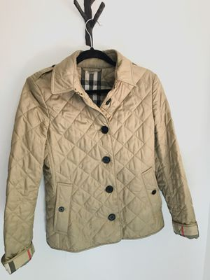 Women's quilted Burberry jacket for Sale in Seattle, WA