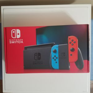 Nintendo Switch 32GB Console - Red/Blue (Version 2) for Sale in Aspen Hill, MD