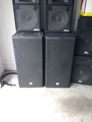 JBL. DUAL 18 INCH SPEAKERS for Sale in Bartow, FL