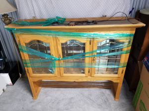 Lighted hutch for Sale in Bend, OR