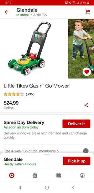 Little tikes mower. 12 Firm for Sale in Glendale, AZ