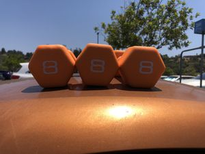 8 lb dumbbells pair for Sale in San Diego, CA