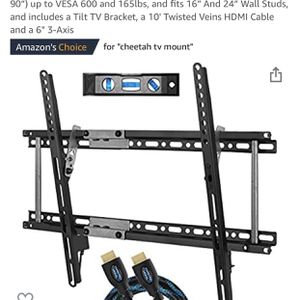 TV Wall Mount For 33-55 Inch Cheetah for Sale in Seattle, WA