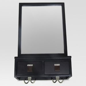 Mirror with hooks. Free with purchase of sofa or coffee table for Sale in Queens, NY
