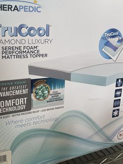 Therapedic True Cool Diamond Luxury Mattress Topper for Sale in Houston,  TX