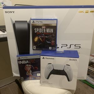 PlayStation 5 bundle extra Controller 2 Games for Sale in Miami, FL