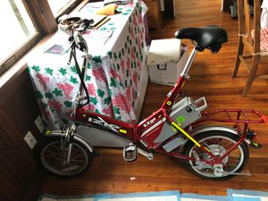 Electric Foldable Bicycle for Sale in Lincoln City, OR