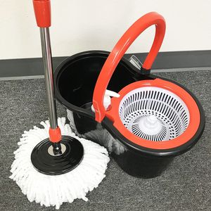 New $20 each Spin Mop 360 degree press mop bucket set with push and pull rotation for Sale in La Mirada, CA