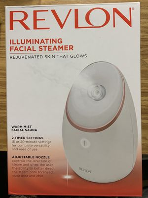 Revlon illuminating facial steamer for Sale in Covina, CA