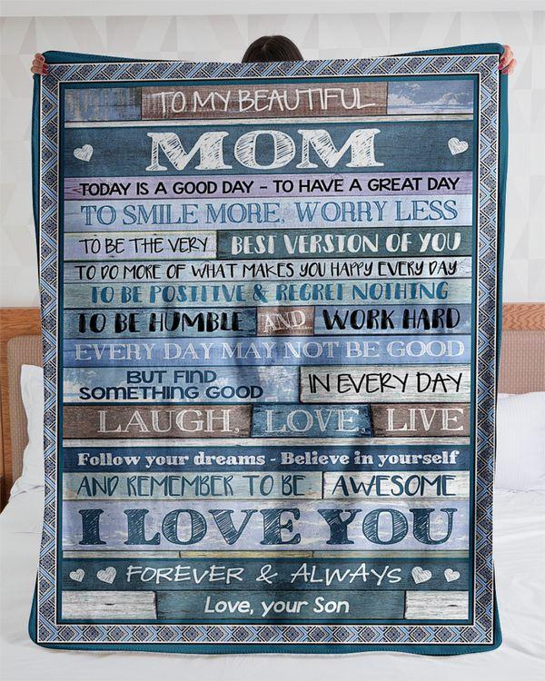 Mom blanket