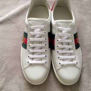gucci ace bee sneakers sz 12 for men for Sale in Los Angeles, CA