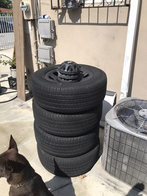 Tires and rims 8 lug good year for Sale in Miami, FL