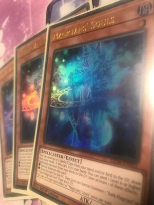 Yugioh magicians souls for Sale in Ontario, CA