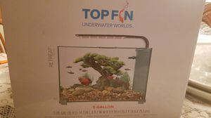 Topfin 5 gallon fish tank for Sale in Oakley, CA