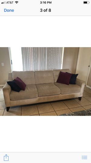 Sofa and love seat $300 or B/O for Sale in Gibsonton, FL
