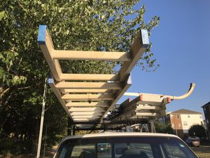 Ladder rack and extension ladder for Sale in Centreville, VA