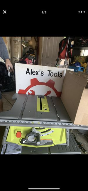 Ryobi 10 inch chainsaw for Sale in Riverside, CA