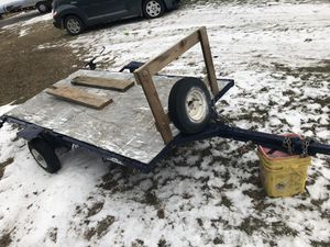 Small tilt bed trailer for Sale in Oregon, IL