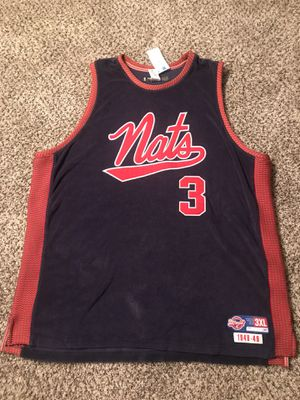 Allen Iverson, Syracuse Nats Throwback, Reebok for Sale in Nashville, TN