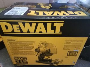 DEWALT CHOP SAW for Sale in Falls Church, VA