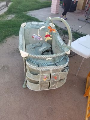 Playpen, crib and changing table and car seat for Sale in Phoenix, AZ