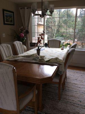 Oak dining set for Sale in Kent, WA