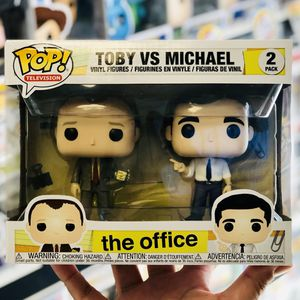 Funko Pop - THE OFFICE 2-PK - TOBY vs MICHAEL for Sale in La Habra Heights, CA