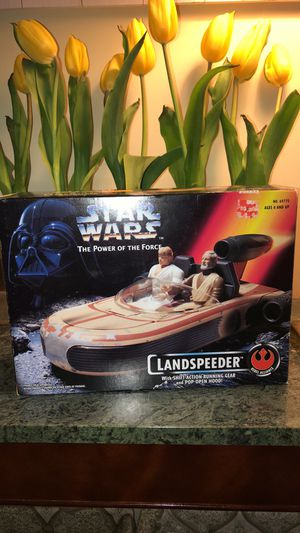"Star Wars ""The Power Of The Force"" Landspeeder for Sale in Brookeville, MD"