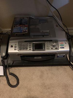 Brother printer copier fax machine picture printer for Sale in North Las Vegas, NV