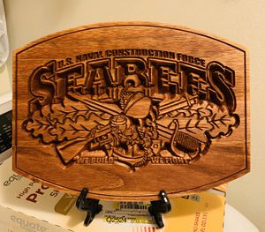 Seabees NCF sign / plaque for Sale in Biloxi, MS