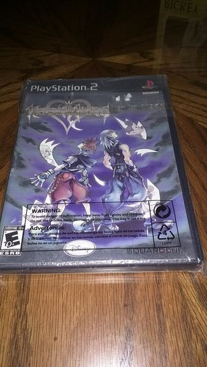 Disney Kingdom Hearts Re: Chain of Memories Ps2 Sony PlayStation Video Game Original Case for Sale in Daly City, CA