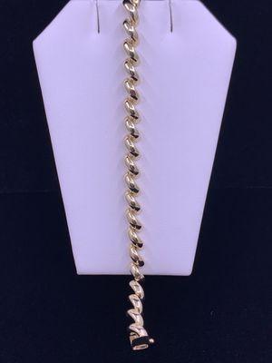 """Women's Gold Bracelet 15.3g 14kt 8"""" for Sale in Phoenix, AZ"""