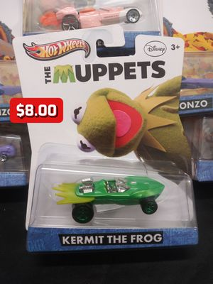 2012 Hot Wheels The Muppets Disney Kermit Collector Character Cars 1:64 for Sale in Oakland, CA