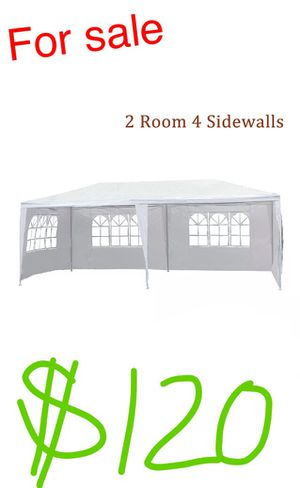 New 10x20 Canopy party Tent Gazebo pavilion Fully enclosed lona carpa canopi for Sale in Torrance, CA