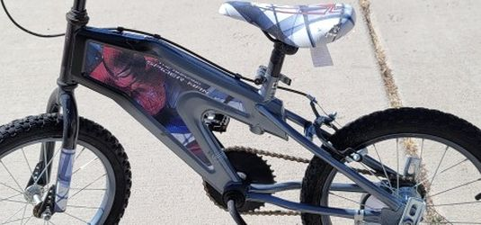 Spider-Man Kids Bike With Training Wheels for Sale in Peyton,  CO