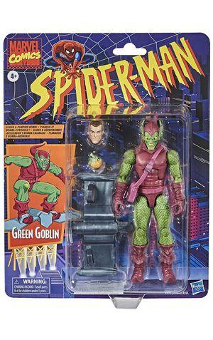 Spider-Man Hasbro Marvel Legends 6-inch Green Goblin Retro Collection Figure for Sale in Altadena, CA