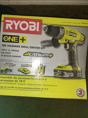 Hammer drill and kit for Sale in Tampa, FL