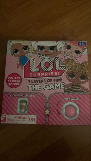 LOL Surprise 7 Layers Of Fun The Game - Unbox, Trade, Collect for Sale in Phoenix, AZ