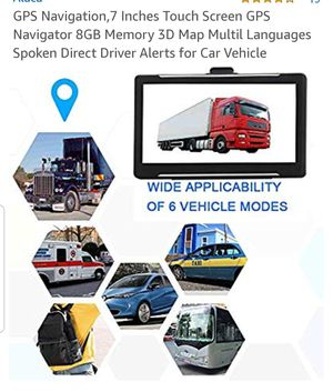 """TRUCKING GPS 7"""" , MULTIPLE VEHICLE'S, mp3,mp5, fm, games, Windows CE, for Sale in San Dimas, CA"""