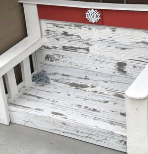 New Rustic Country Farm Porch Patio Swing Or convert Mud Bench for Sale in Brighton, CO