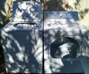 WASHER AND DRYER CAPACYTY KING SIZE for Sale in Glendale, AZ