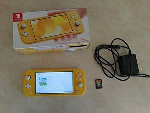 NEW NINTENDO SWITCH LITE + 4 GAMES + POWER CABLE + WARRANTY + CASE for Sale in Fresno, CA