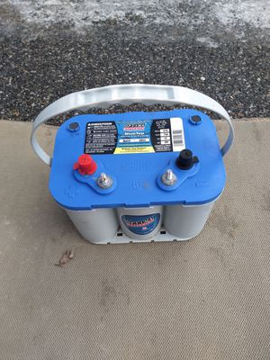 NEW OPTIMA BLUE TOP MARINE DUAL PURPOSE BATTERY for Sale in Lynnwood, WA