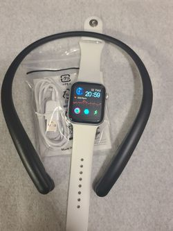 NEW!GENUINE RETRACTABLE LG BLUETOOTH HEADSET & SMART WATCH FOR IPHONE & ANDROID****HABLO ESPAÑOL for Sale in Fort Myers,  FL