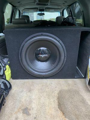 18 inch skar subwoofer for Sale in Atlanta, GA
