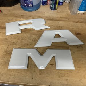2018 ram white tailgate letters for Sale in Elk Grove, CA